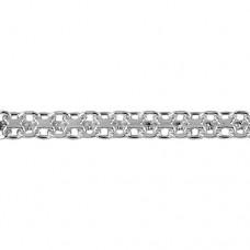 Серебряная цепочка Бисмарк 040