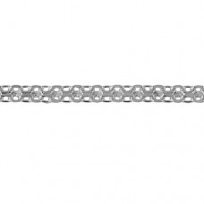 Цепь серебряная Бисмарк 060-50 Ag 925