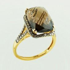 Кольцо с бриллиантами и т