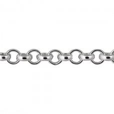 Серебряная цепочка Гороховая 055