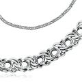 Серебряная цепочка ручной работы